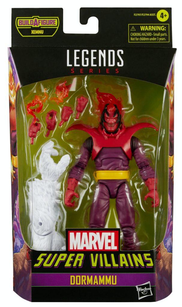 2021 Marvel Legends Villains Series Dormammu Figure Packaged