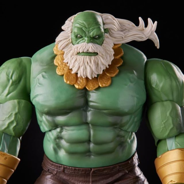 Close-Up of Marvel Legends Maestro Hulk Figure Hasbro 2021