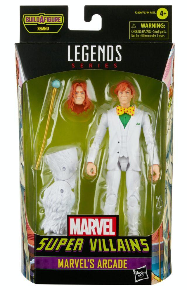 Marvel Legends 2021 Arcade Figure Packaged Xemnu Series