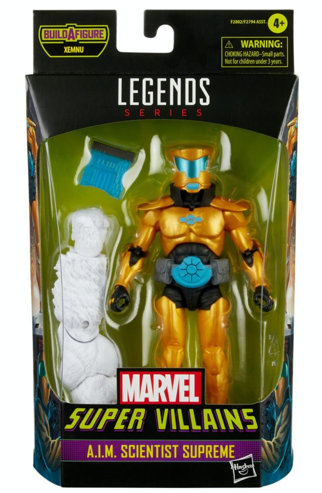 Marvel Legends AIM Scientist Supreme Figure Packaged