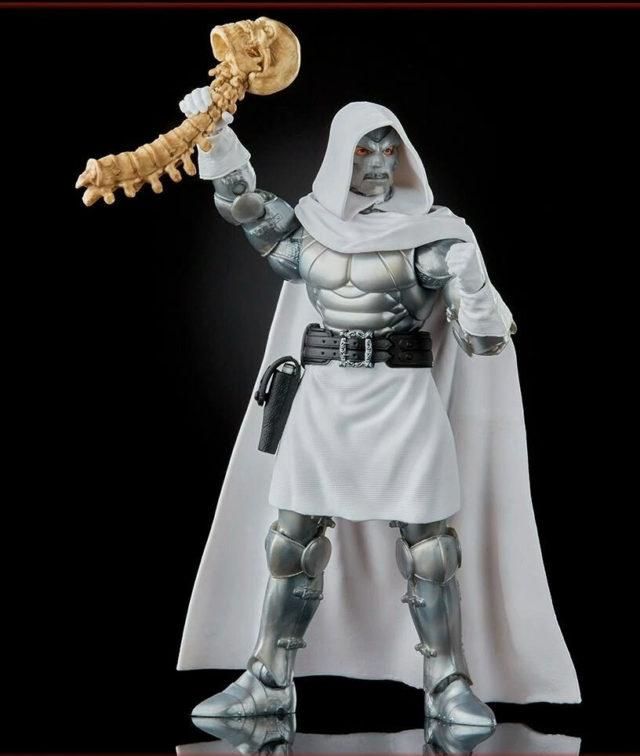 Marvel Legends Secret Wars Doctor Doom Holding Thanos Skull and Spine