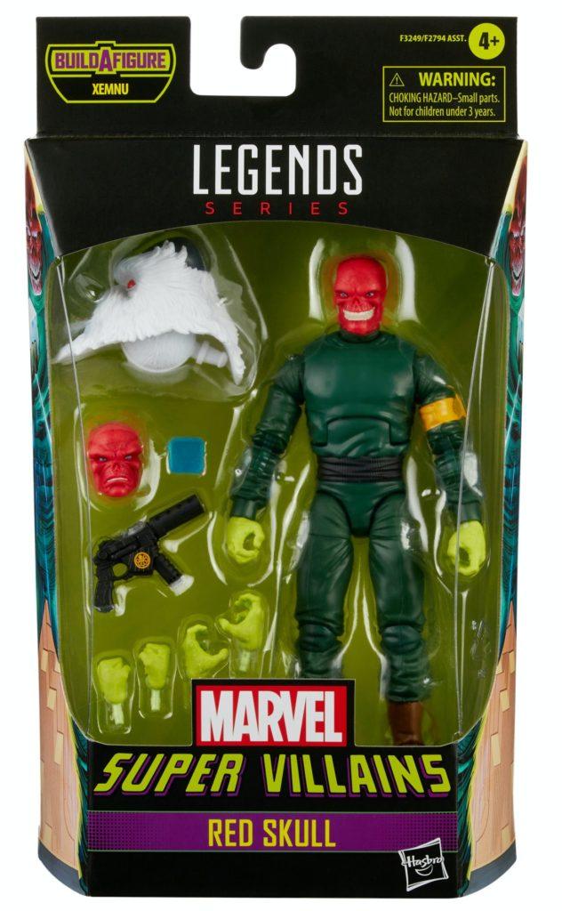 Marvel Legends Super Villains Series Classic Red Skull Figure Packaged