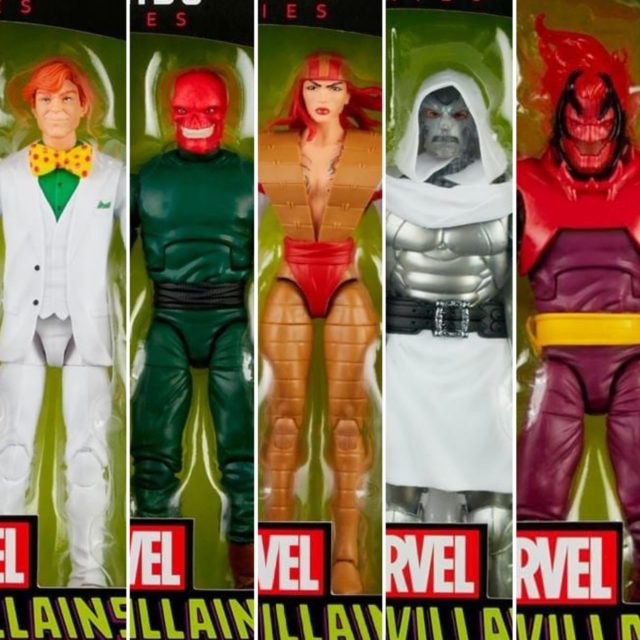 Marvel Legends Villains Series Figures Arcade Doom Dormammu Deathstrike