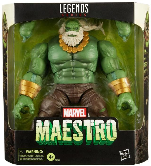 Order Marvel Legends Maestro Hulk Figure