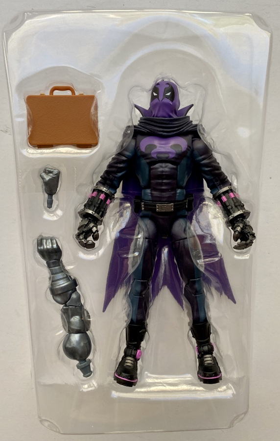 Hasbro Marvel Legends Spider-Man Into the Spider-Verse Prowler Figure and Accessories