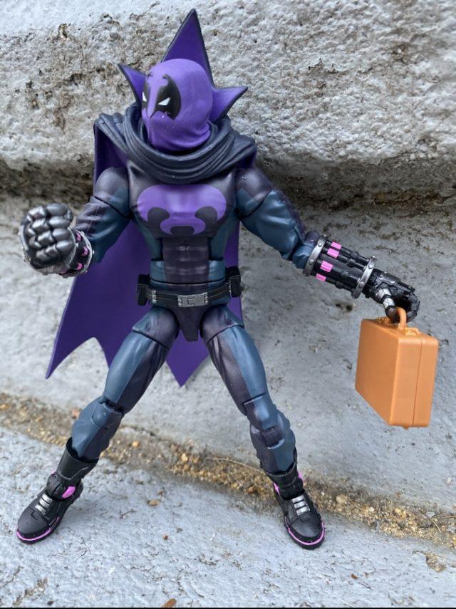 Spider-Verse Prowler Uncle Aaron Davis Figure Holding Briefcase
