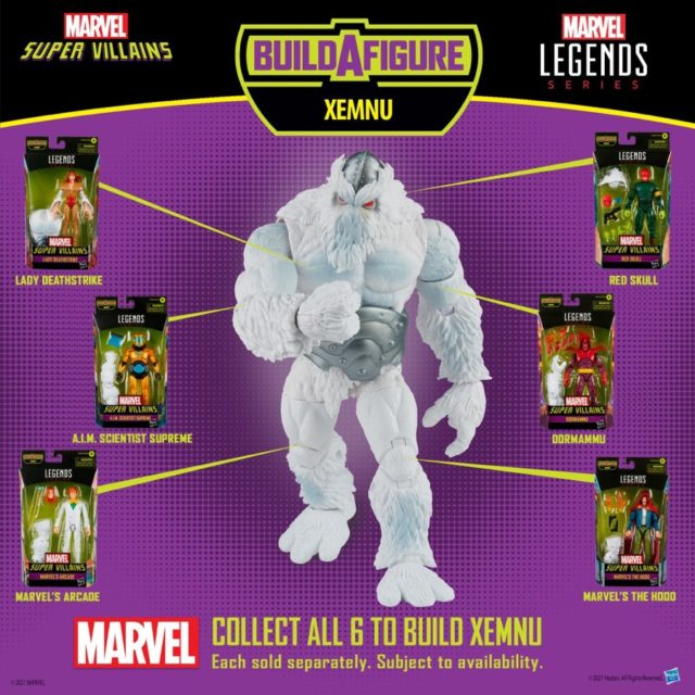 Marvel Legends 2021 Xemnu Series Villains