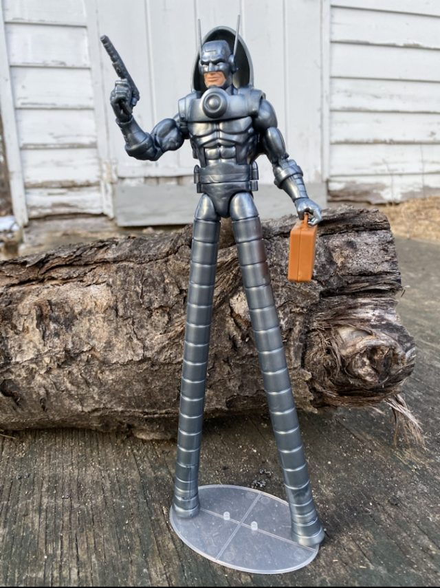 Stilt-Man Hasbro Marvel Legends Figure Review 2021 Gun