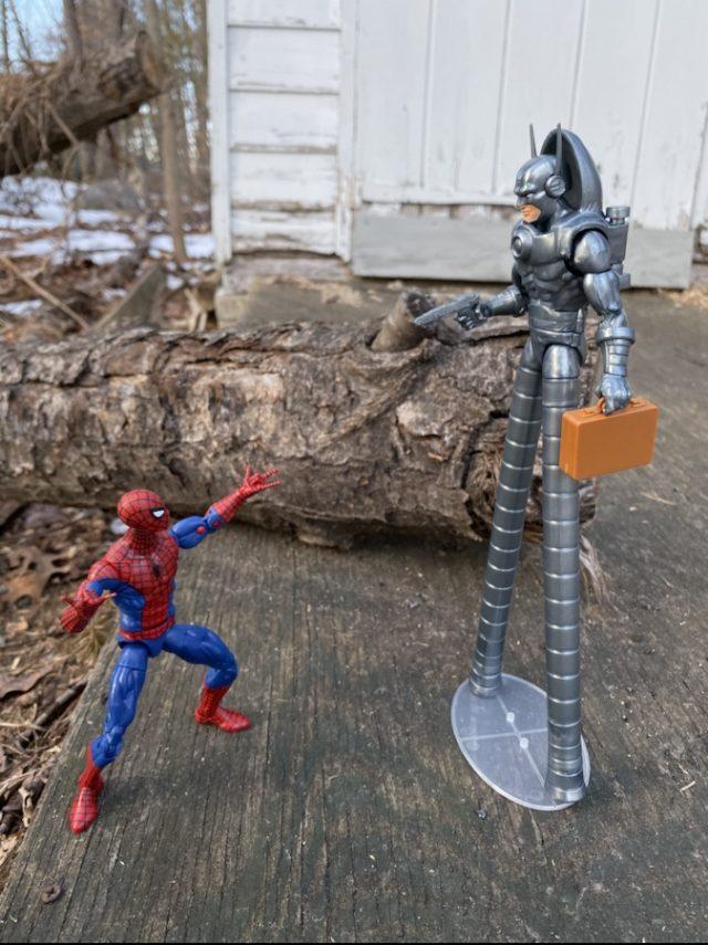 Spider-Man vs Stilt-Man Marvel Legends Action Figures Review