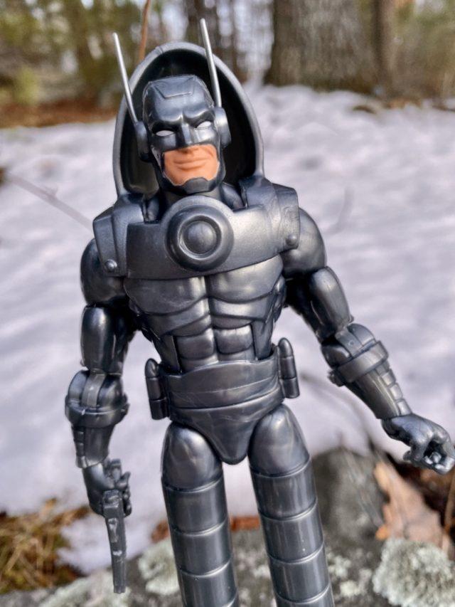 Close-Up of Marvel Legends Stilt-Man Figure Head Antennae
