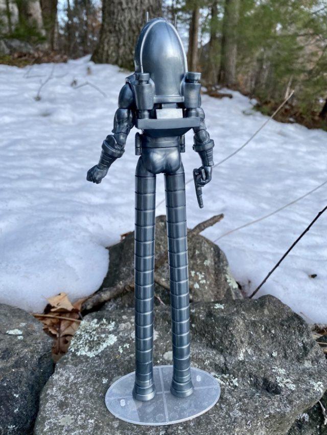 Back of Marvel Legends Stilt-Man Hasbro Build A Action Figure