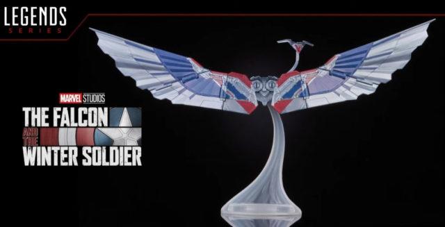2021 Marvel Legends Captain America Falcon Wings Build-A-Figure