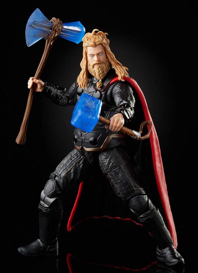 2021 Marvel Legends Endgame Thor Movie Figure Dual-Wielding Hammers