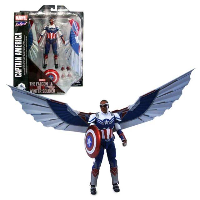 Diamond Select Toys Captain America Falcon Sam Wilson Exclusive 7 Inch Figure
