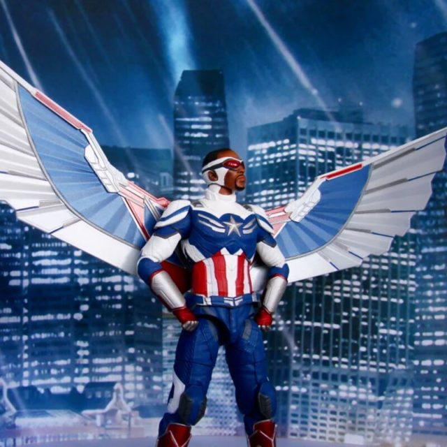 Falcon Captain America Marvel Select Action Figure Disney Store Exclusive