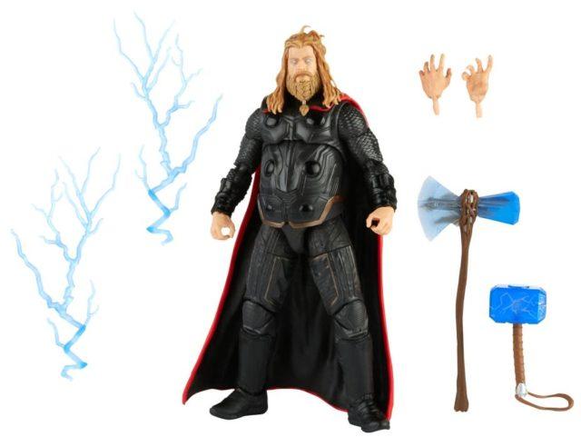 Infinity Saga Marvel Legends Avengers Endgame Thor Final Battle Figure and Accessories