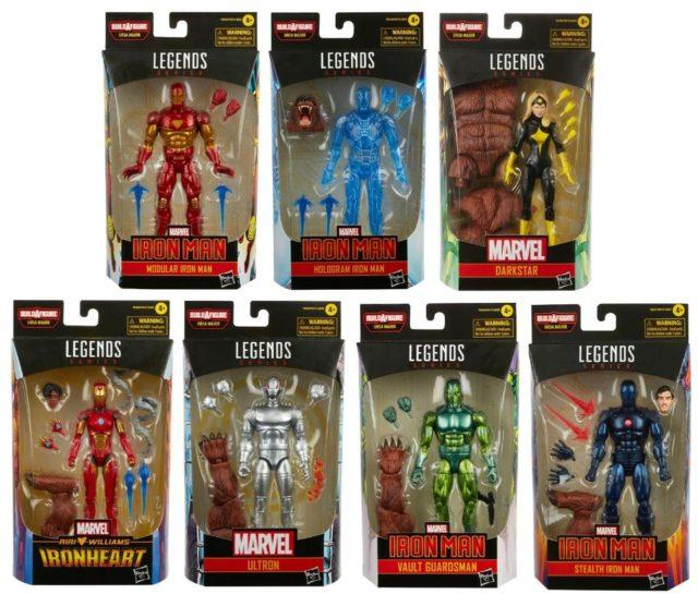 Marvel Legends 2021 Iron Man Series Ursa Major Build-A-Figure Wave
