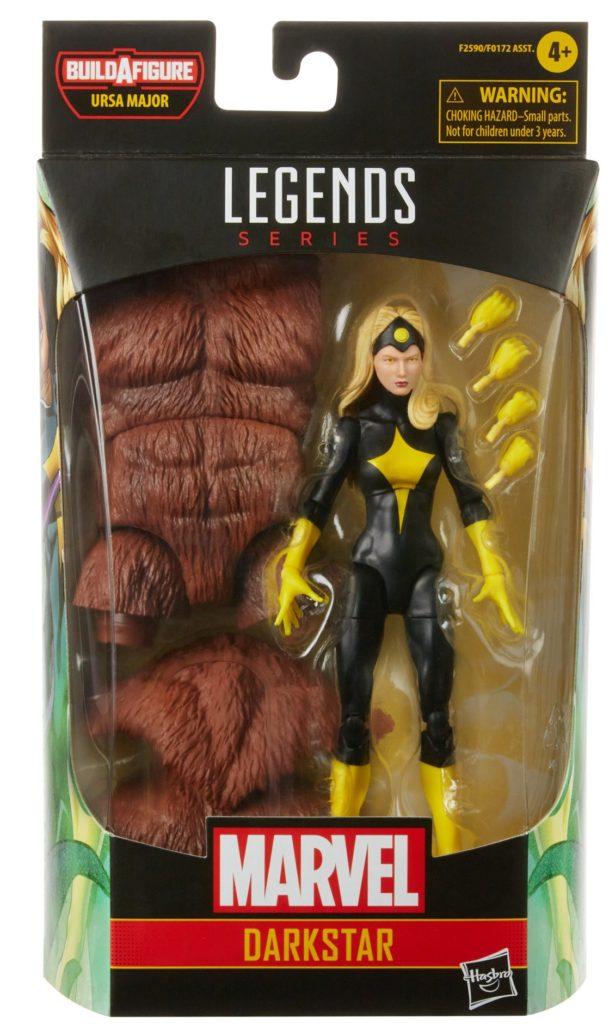 Marvel Legends Darkstar Packaged with Ursa Major BAF Body