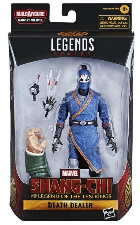 Marvel Legends Death Dealer Figure Packaged