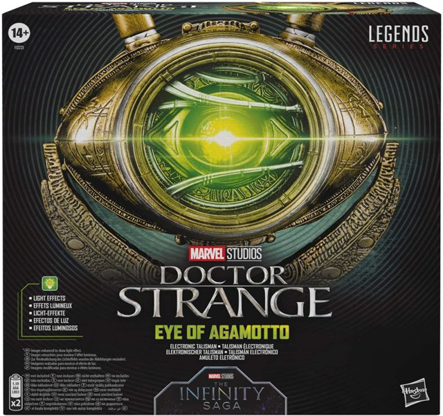 Marvel Legends Eye of Agamotto Prop Replica Box Packaging