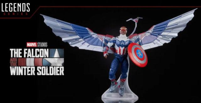 Marvel Legends Falcon Captain America Sam Wilson Disney+ Figure