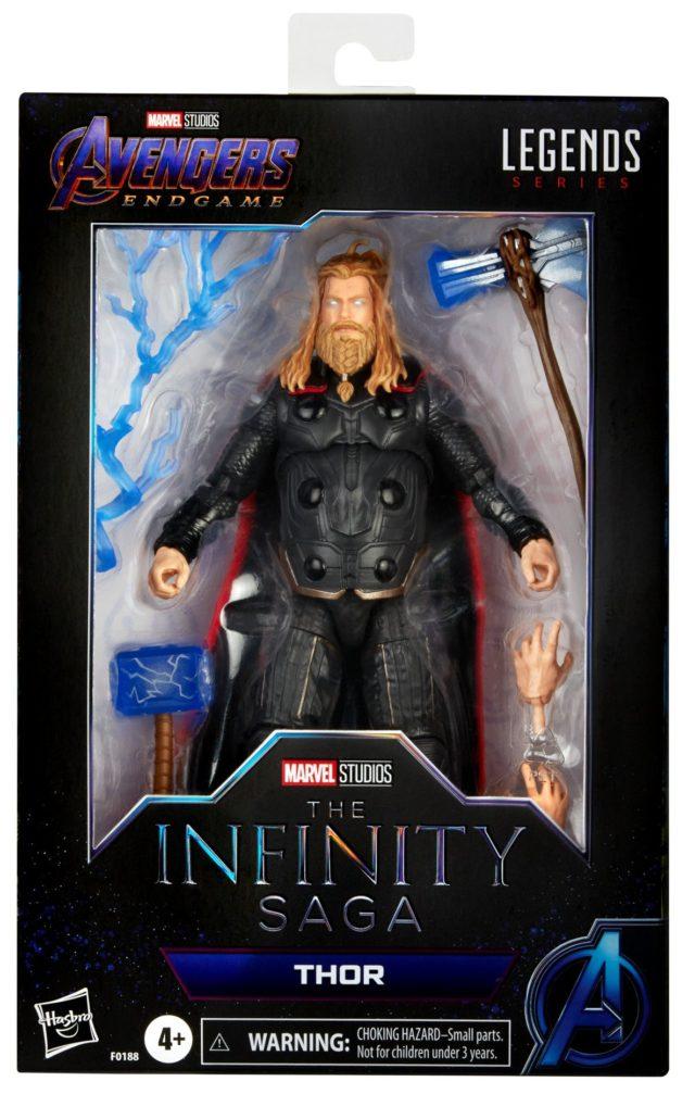Marvel Legends Infinity Saga Thor Figure Packaged