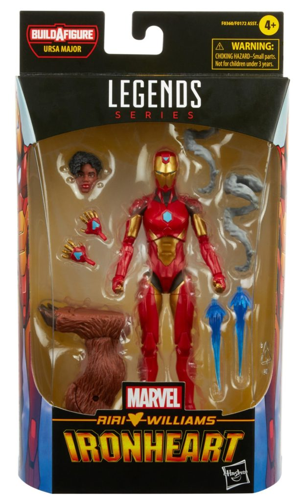 Marvel Legends Ironheart Figure Packaged