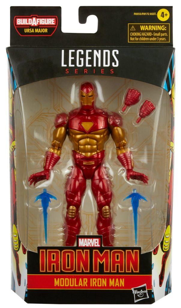 Marvel Legends Modular Iron Man Figure Packaged
