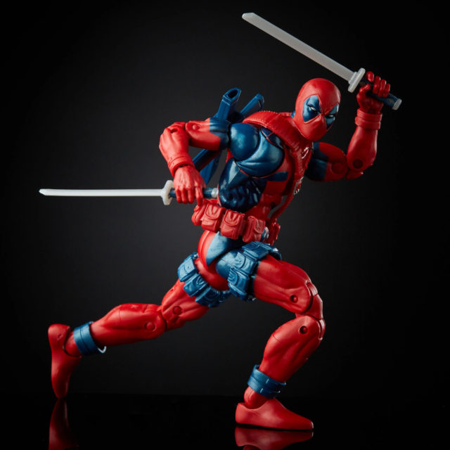 Marvel Legends Retro Deadpool Figure Reissue