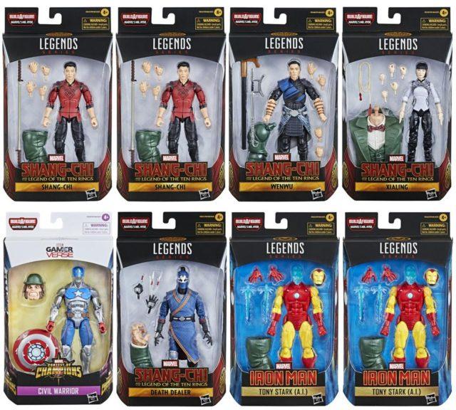 Marvel Legends Shang Chi Series Figures Case Ratios