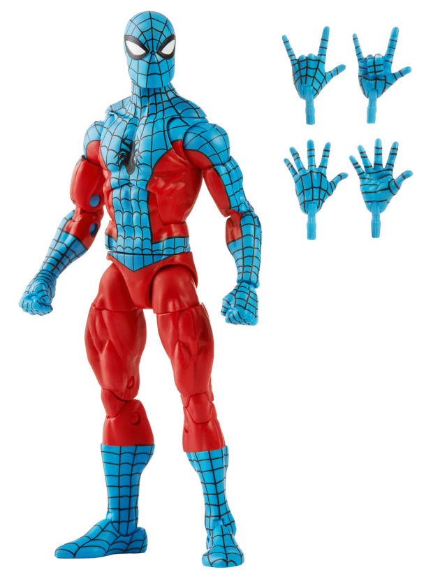 Marvel Legends Spider-Man Web-Man Figure and Accessories Alternate Hands