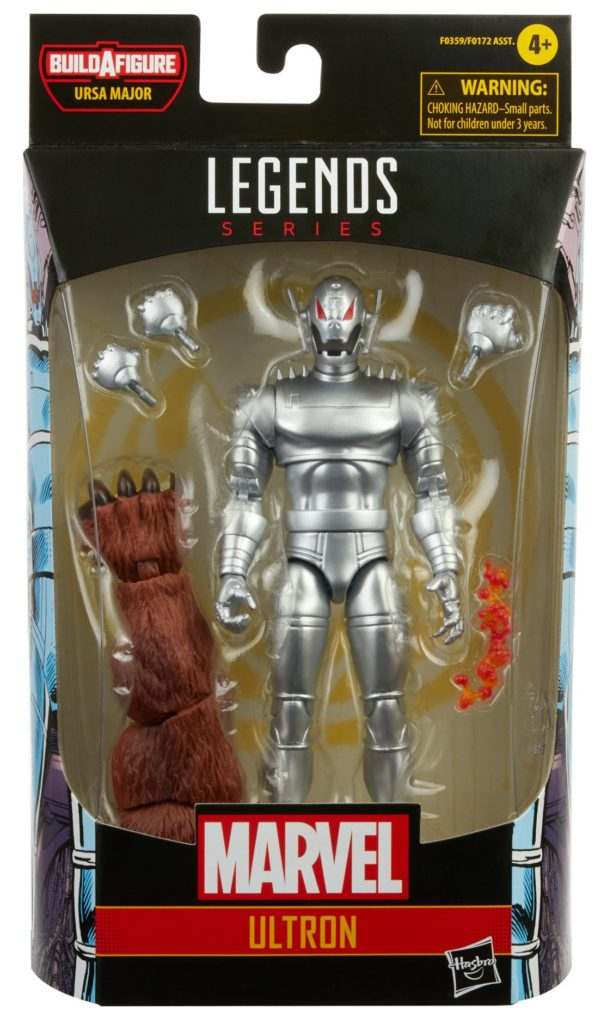 Marvel Legends Ultron Classic Figure Packaged