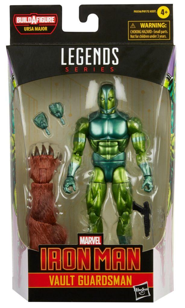 Marvel Legends Vault Guardman Figure Packaged Ursa Major BAF Series 2021