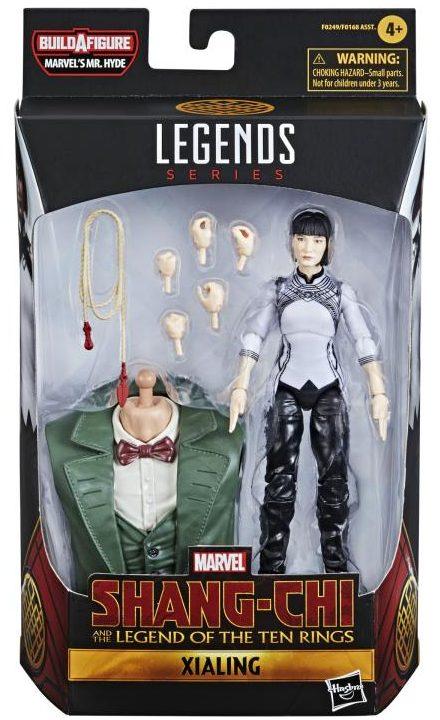 Marvel Legends Xialing Movie Figure Packaged