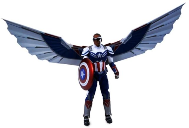Marvel Select Captain America Falcon Sam Wilson Figure