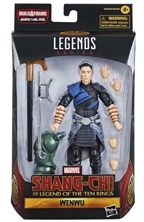 Wenwu Marvel Legends 2021 Figure Packaged