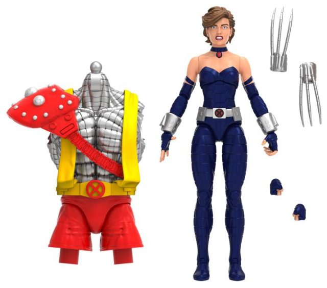 2021 Marvel Legends Kitty Pryde AOA Shadowcat Figure and Accessories
