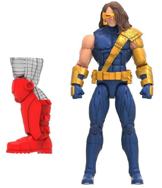 AOA Cyclops X-Men Marvel Legends Figure and Accessories