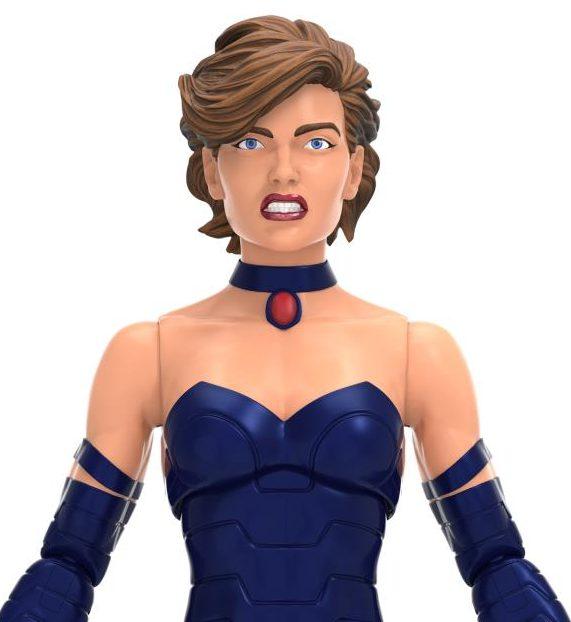 Close-Up of AOA Marvel Legends Shadowcat Figure