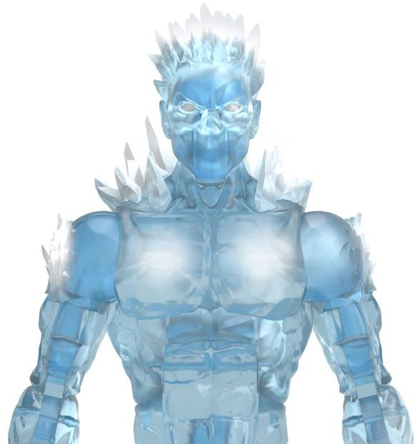 Close-Up of Iceman AOA Marvel Legends 6 Inch Figure