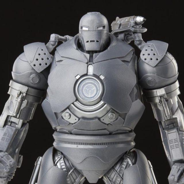 Close-Up of Marvel Legends Infinity Saga Iron Monger Figure