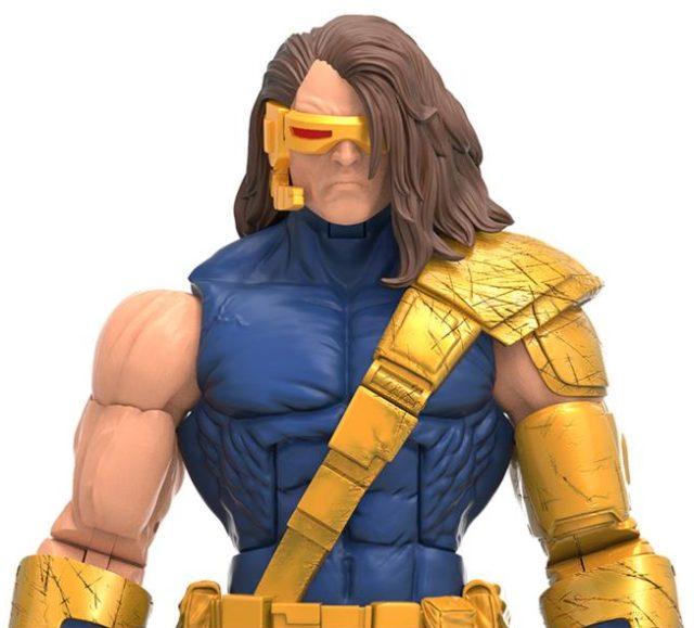 Close-Up of X-Men Marvel Legends Cyclops Age of Apocalypse Figure