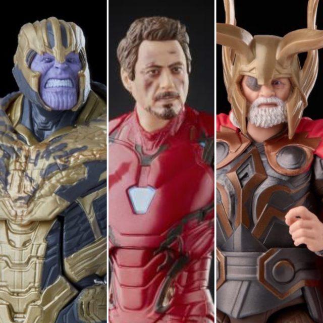 Hasbro 2021 Marvel Legends Infinity Saga Thor Iron Man Thanos Movie Figures MCU