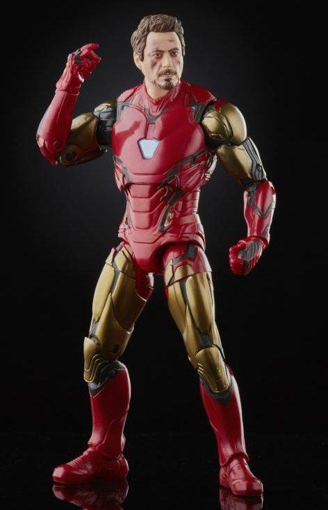 Infinity Saga Marvel Legends Iron Man Avengers Endgame Snapping Figure