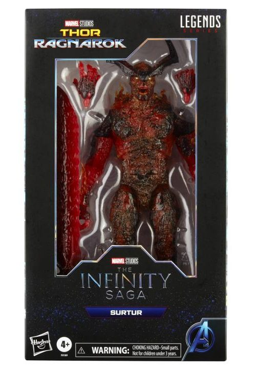 Marvel Legends 2021 Surtur Infinity Saga Movie Figure Packaged Box