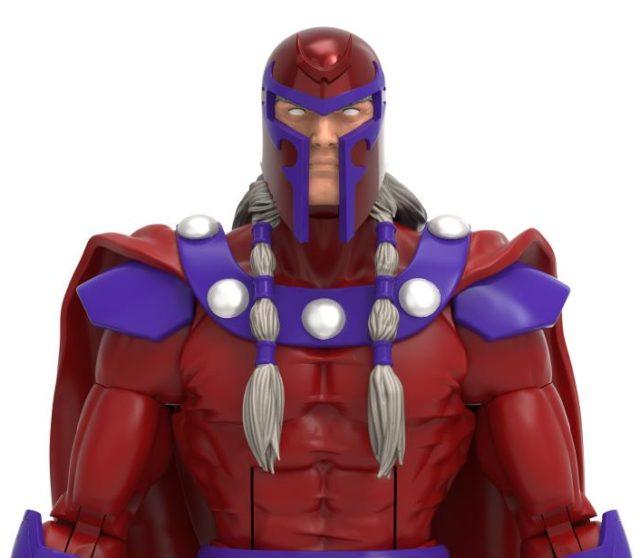 Marvel Legends Age of Apocalypse Magneto Figure with Helmet On