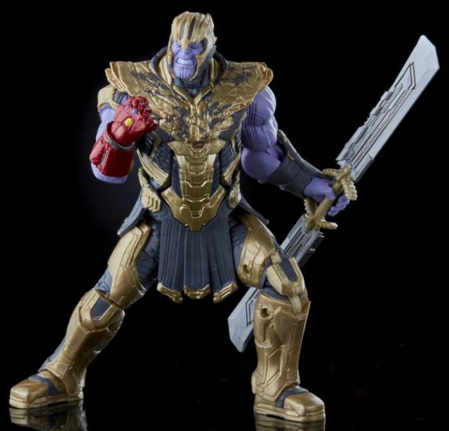 Marvel Legends Infinity Saga Thanos Final Battle Figure with Nano Gauntlet
