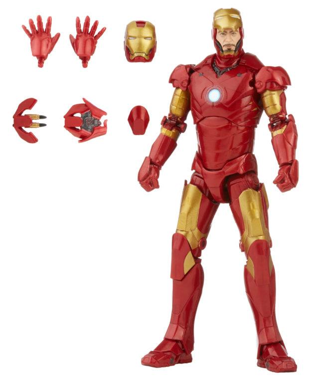 Marvel Legends Iron Man Mark III Infinity Saga 6 Inch Figure 2021 Hasbro