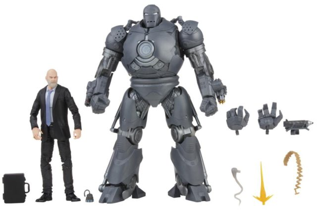 Marvel Legends Iron Monger and Obadian Stane Figures and Accessories