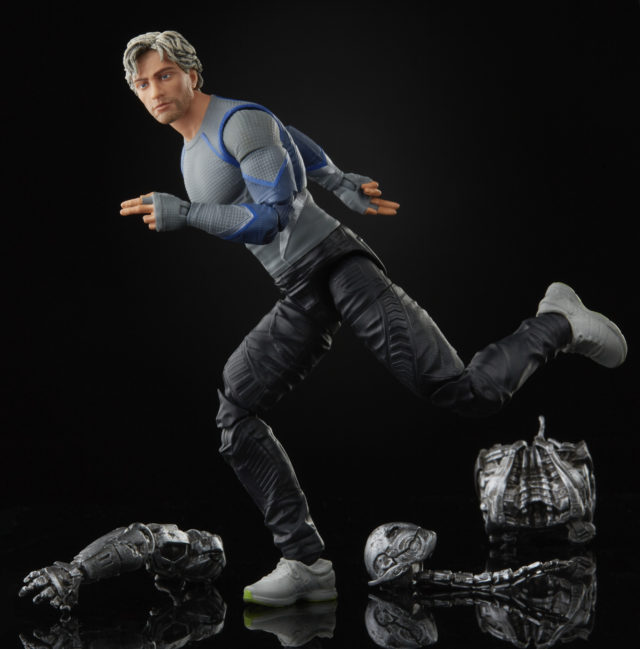 Quicksilver Marvel Legends Movie Figure Running